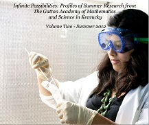 2012 book cover image features female student researcher in biology lab