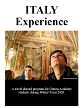 small cover image of student in Renaissance art gallery for Italy itinerary