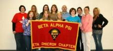Photo of Beta Alpha Psi students.