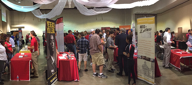 The crowd at one of our DiscoverWKU events