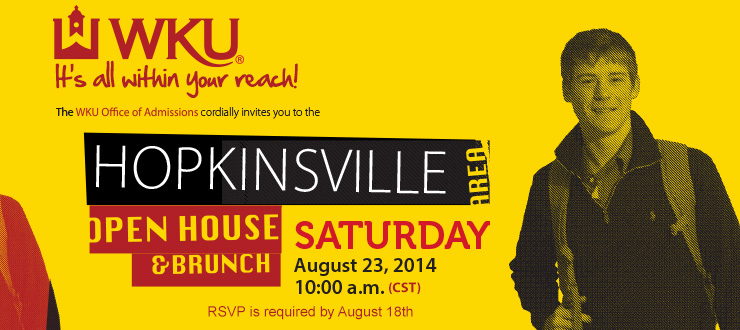Hopkinsville Open House - Saturday, August 23rd, 2014 - James E. Bruce Convention Center