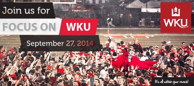 Focus on WKU September 27th 2014
