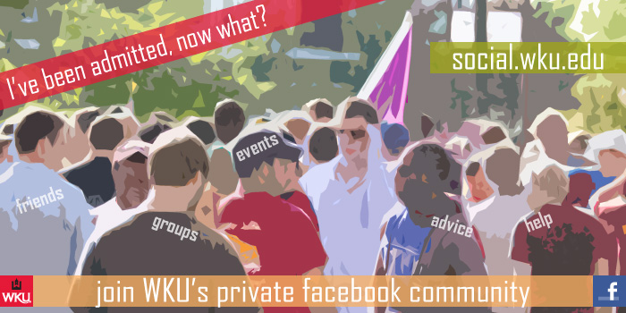 Admitted? Join WKU's private Facebook site!