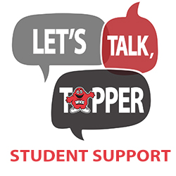 Let's Talk, Topper: Student Support Services