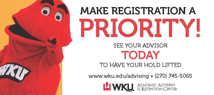 Make registration a priority!