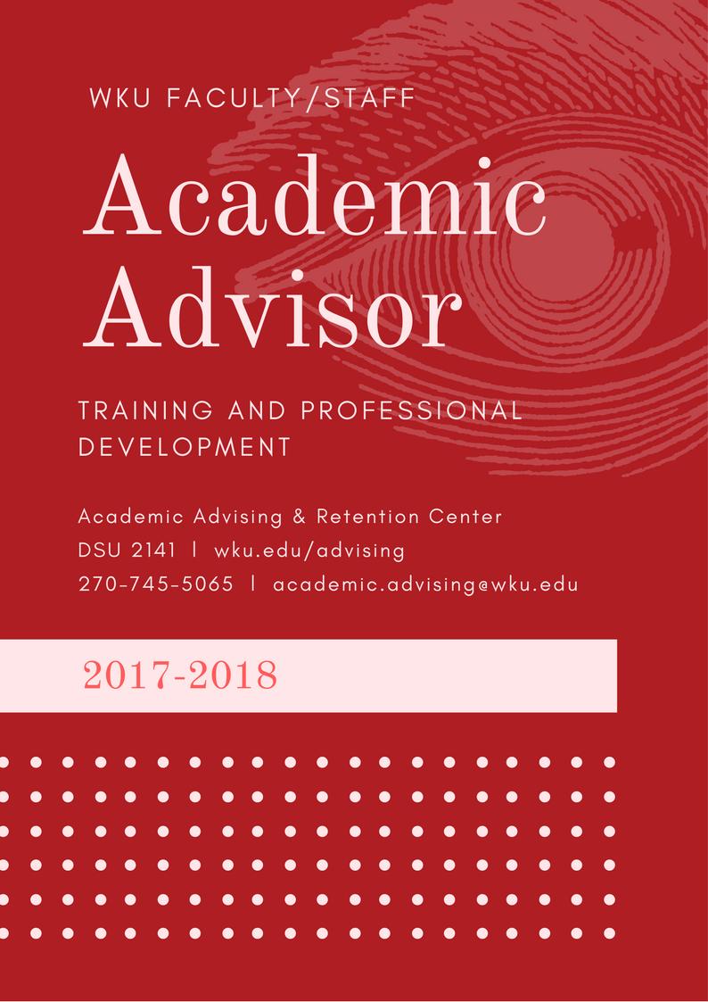 Academic Advisor Training And Professional Development