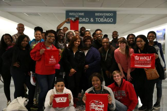 Trinidad study abroad group