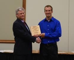 Adam Blessinger- Outstanding Animal Science Student
