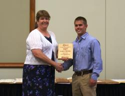 Brad Mattingly- Outstanding Senior in Agronomy