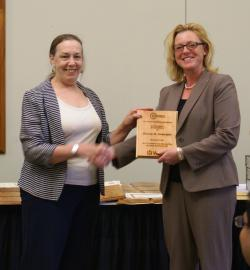 Denise Anderson- The Elmer Gray Outstanding Graduate Student