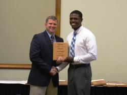 Jerry Edmonds- Outstanding Turfgrass Management Student