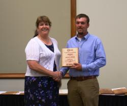 Joshua Dennis- Outstanding Student in Agronomy