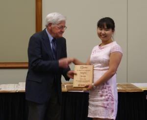 Yao Xue The Elmer Gray Outstanding Graduate Student