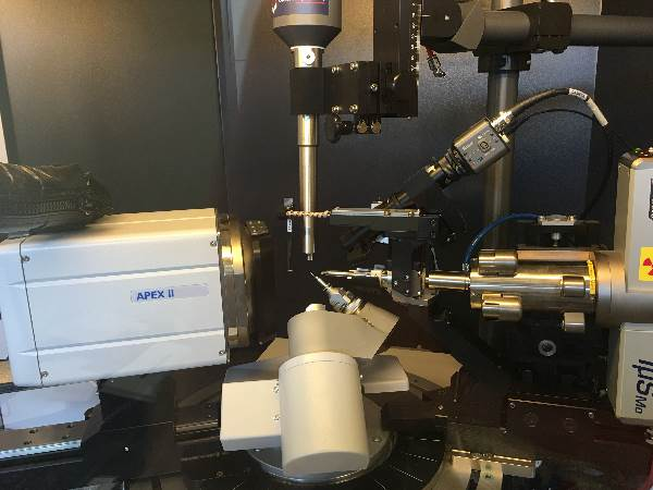 Bruker Apex-II Single Crystal X-ray Diffractometer