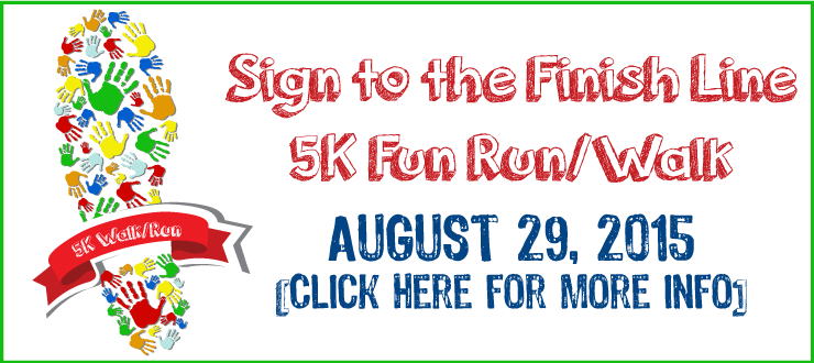 PAH 5K - Sign to the Finish Line