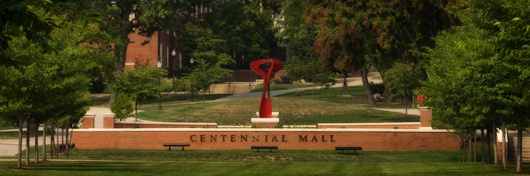 Photo of Centennial Mall by Clinton Lewis.