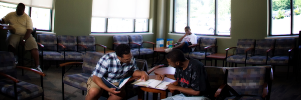 WKU students studying at South Campus.
