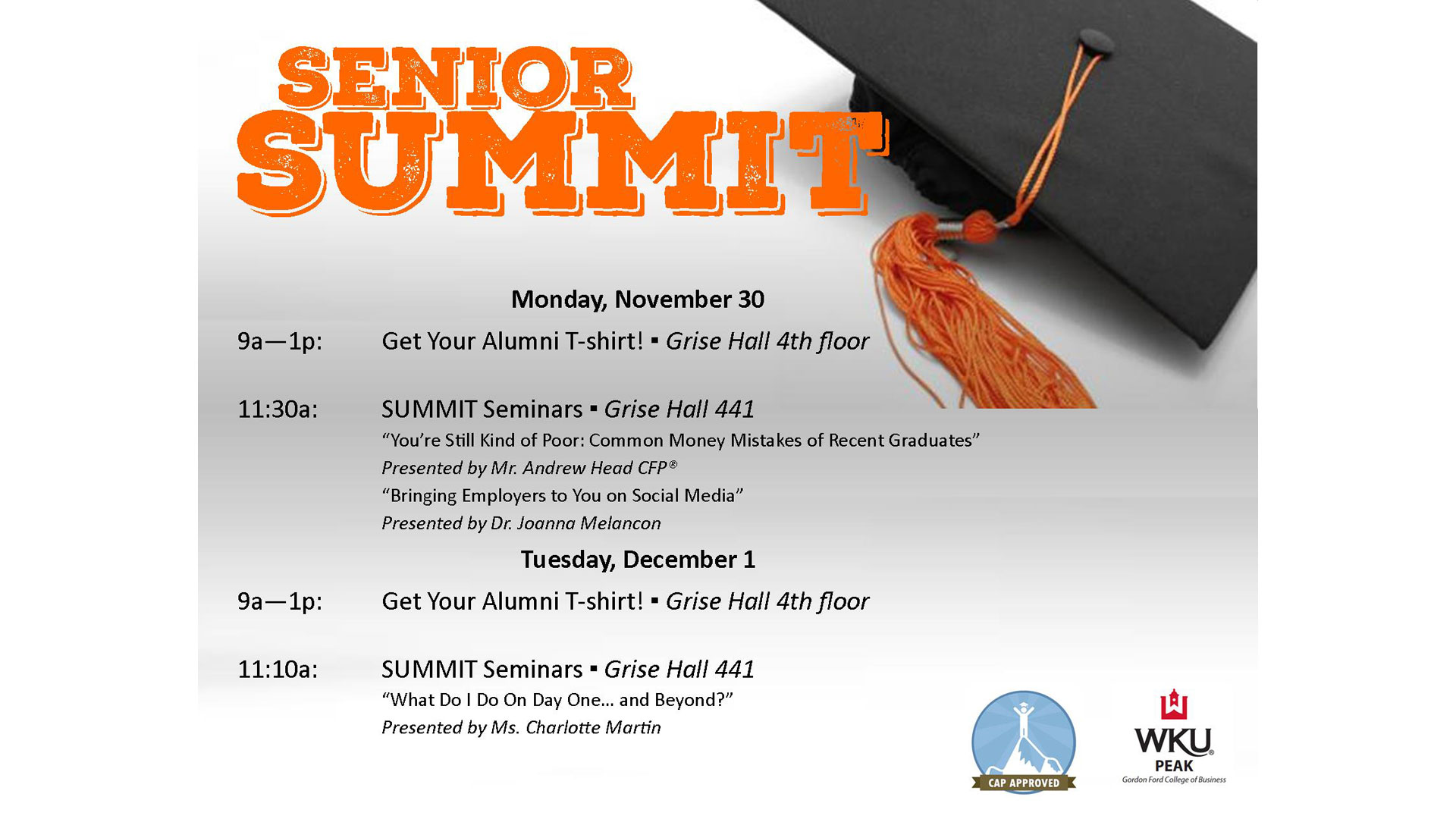 2015 Senior Summit