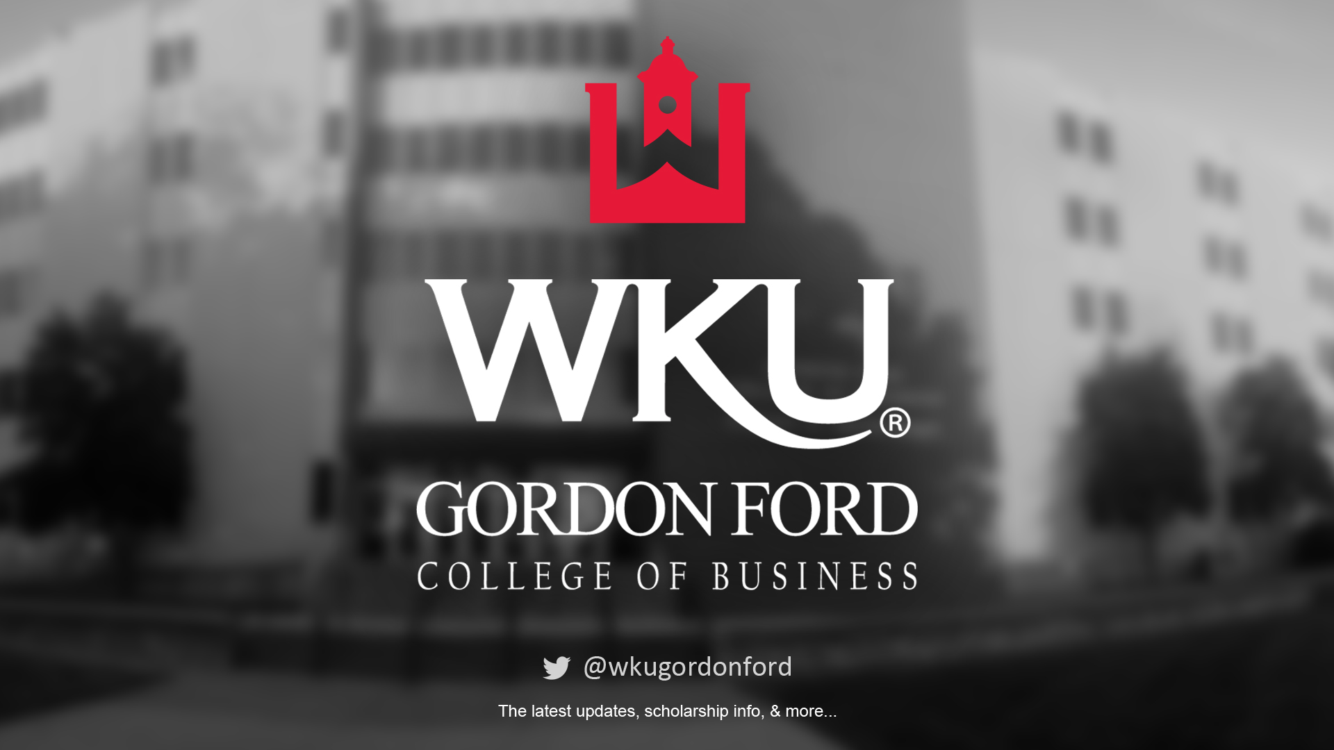 Gordon Ford College of Business