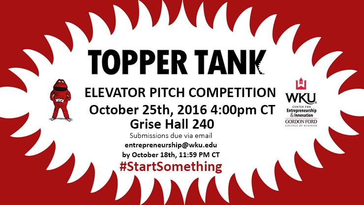 Topper Tank - Elevator Pitch Competition