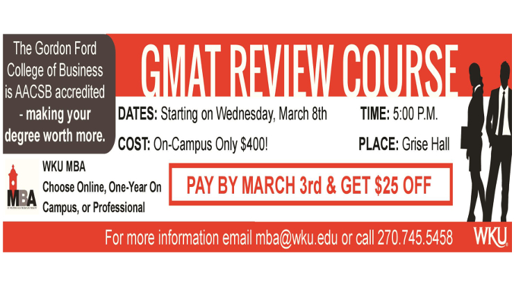 GMAT Review Ad