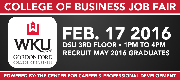 2016 College of Business Job Fair