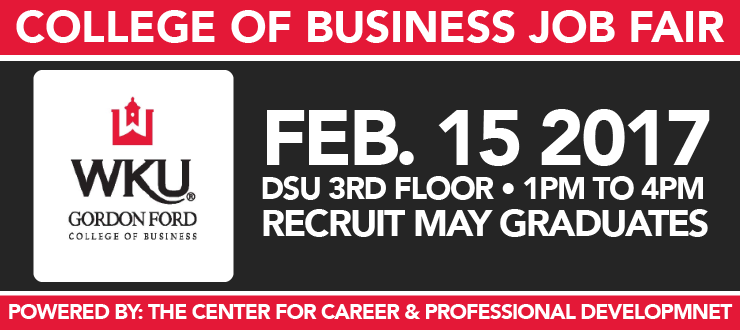 College of Business Job Fair