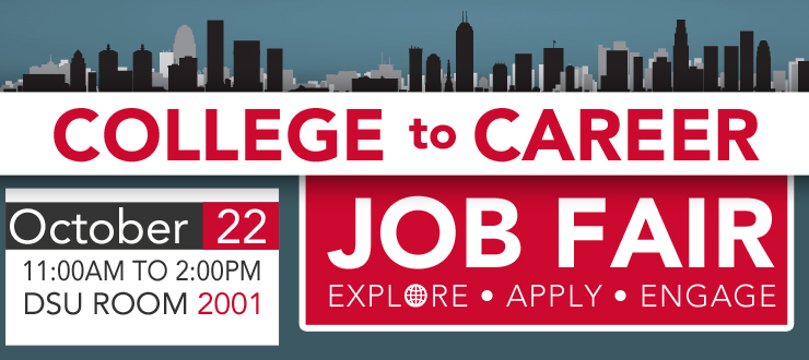 WKU's College to Career Fair is Oct 22 from 11am to 2 pm
