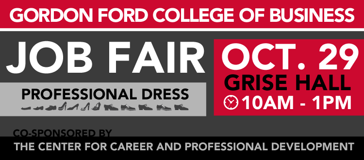 Gordon Ford college of business Fair
