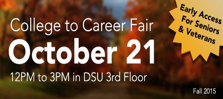 Fall 2015 college to career fair
