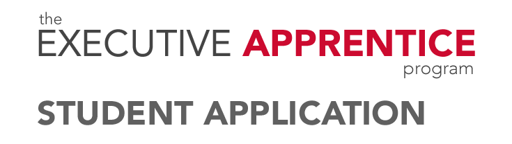 Executive Apprentice Application