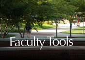 Faculty Tools