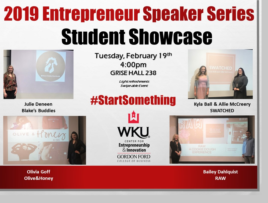 Speaker Series - Student Showcase