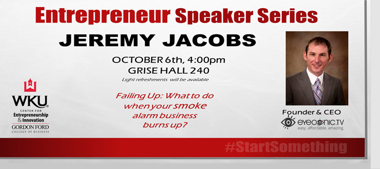 Entrepreneur Speaker Series September 2015