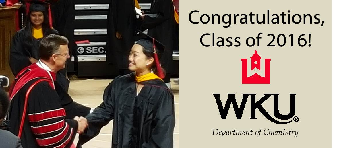 WKU Chemistry Students at Commencement