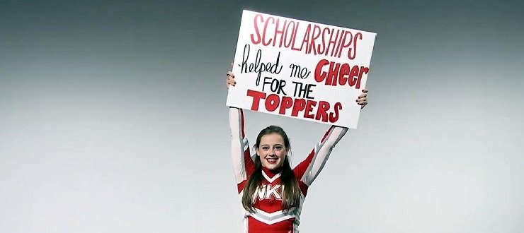 Cheering for Tops