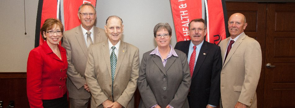The 2015 CHHS Hall of Fame Induction Ceremony was held on May 13th. The 2015 Inductees include: (from left to right) Ms. Marilyn Dubree, Dr. Thad Crews, Dr. Alton Little, Dr. Melinda Joyce, Mr. Jeffrey Buckley, and Dr. John Bonaguro