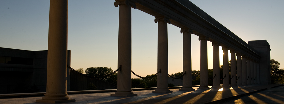 Colonnade Sunset