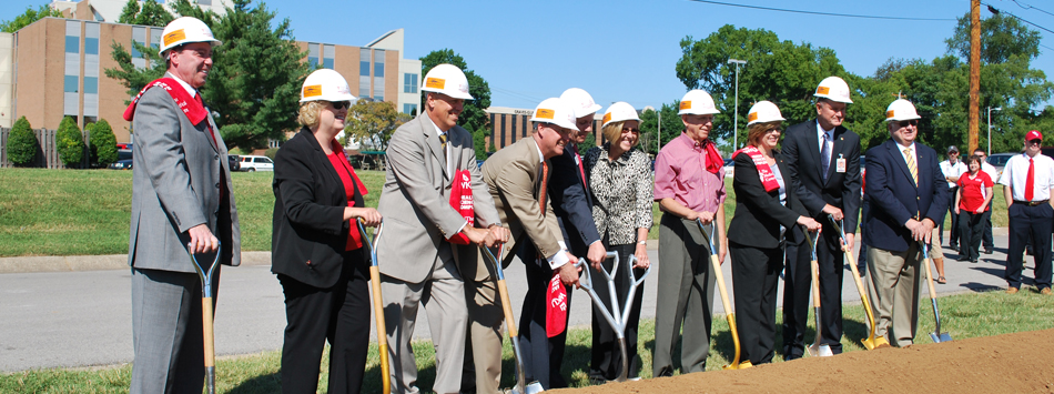 Nursing and DPT Groundbreaking Ceremony at the Medical Center