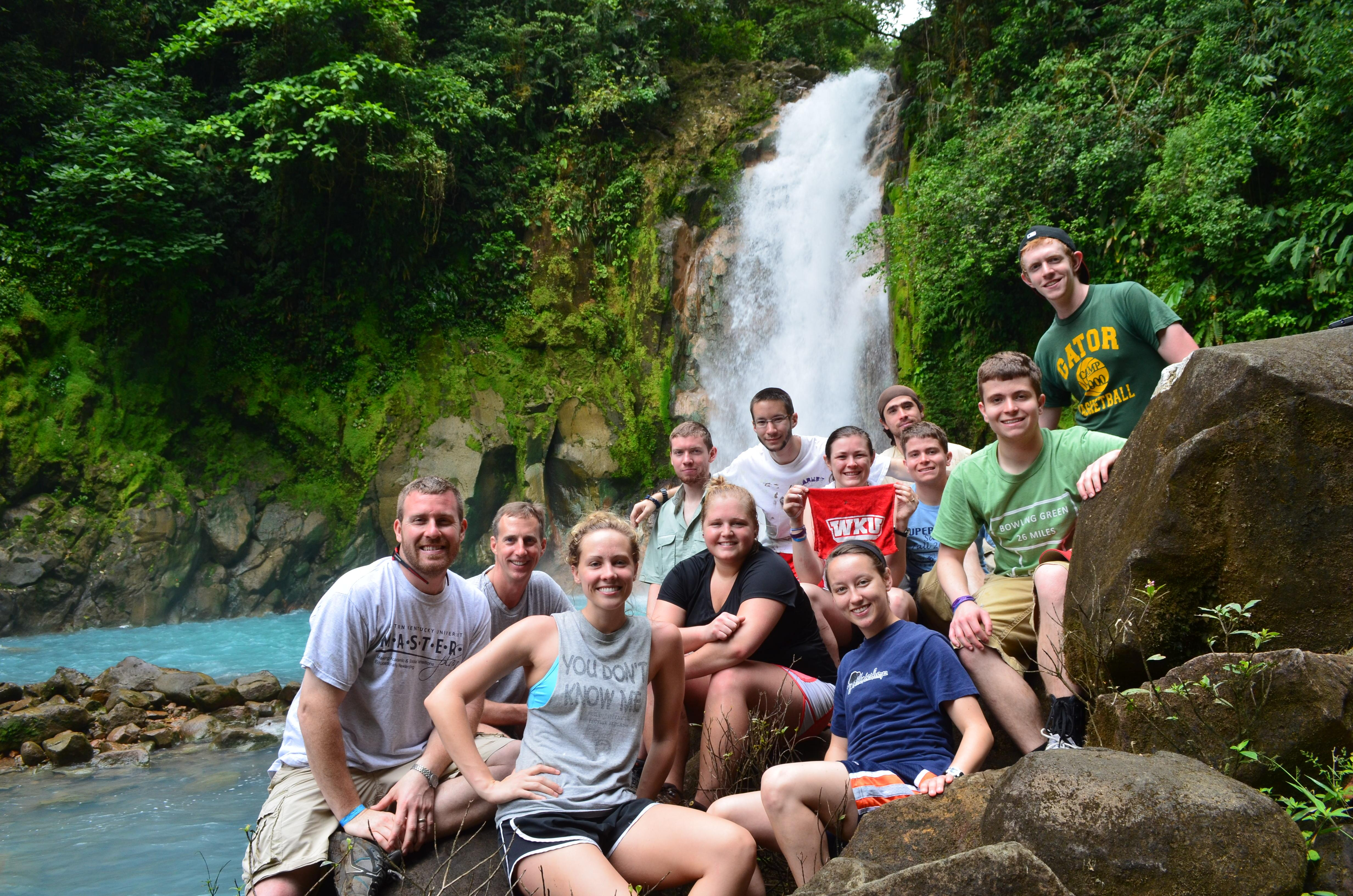 Students and Faculty in Costa Rica