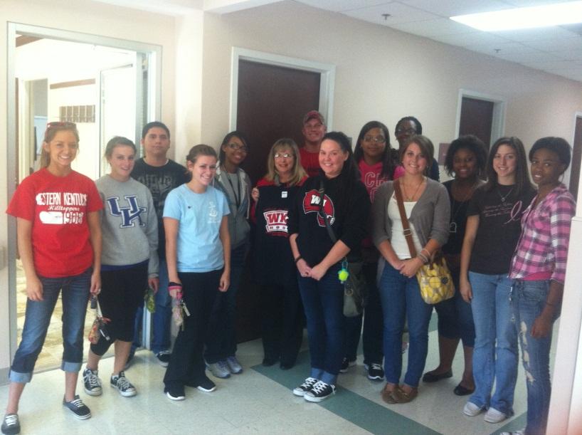 HOSA Students Visit SKYRehab