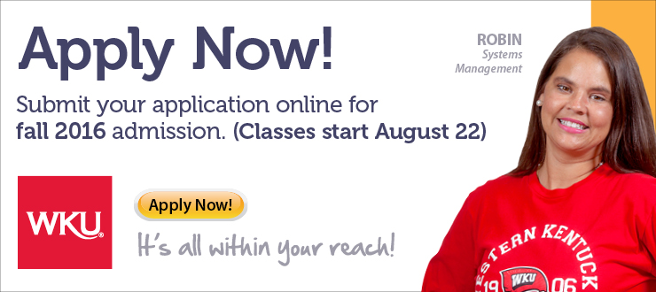 Apply Now for Online Admission: Fall 2016