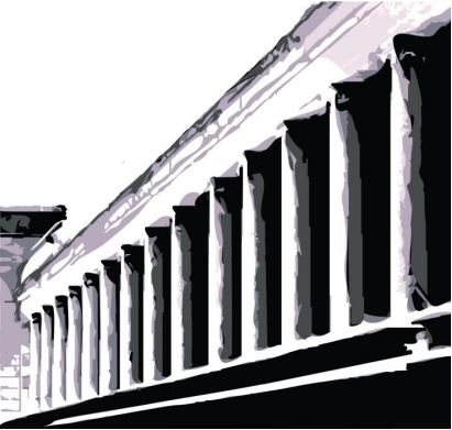 picture of WKU colonnade