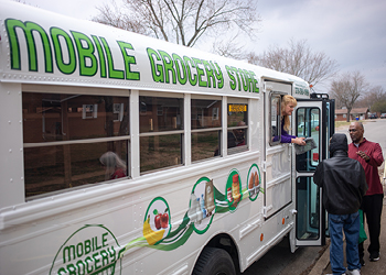Mobile Grocery Store Service Learning