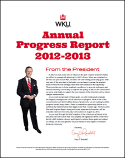Annual Progress Report 2012-2013