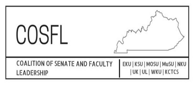 Coalition of Senate and Faculty Leadership