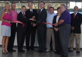 Ribbon Cutting at LRDC