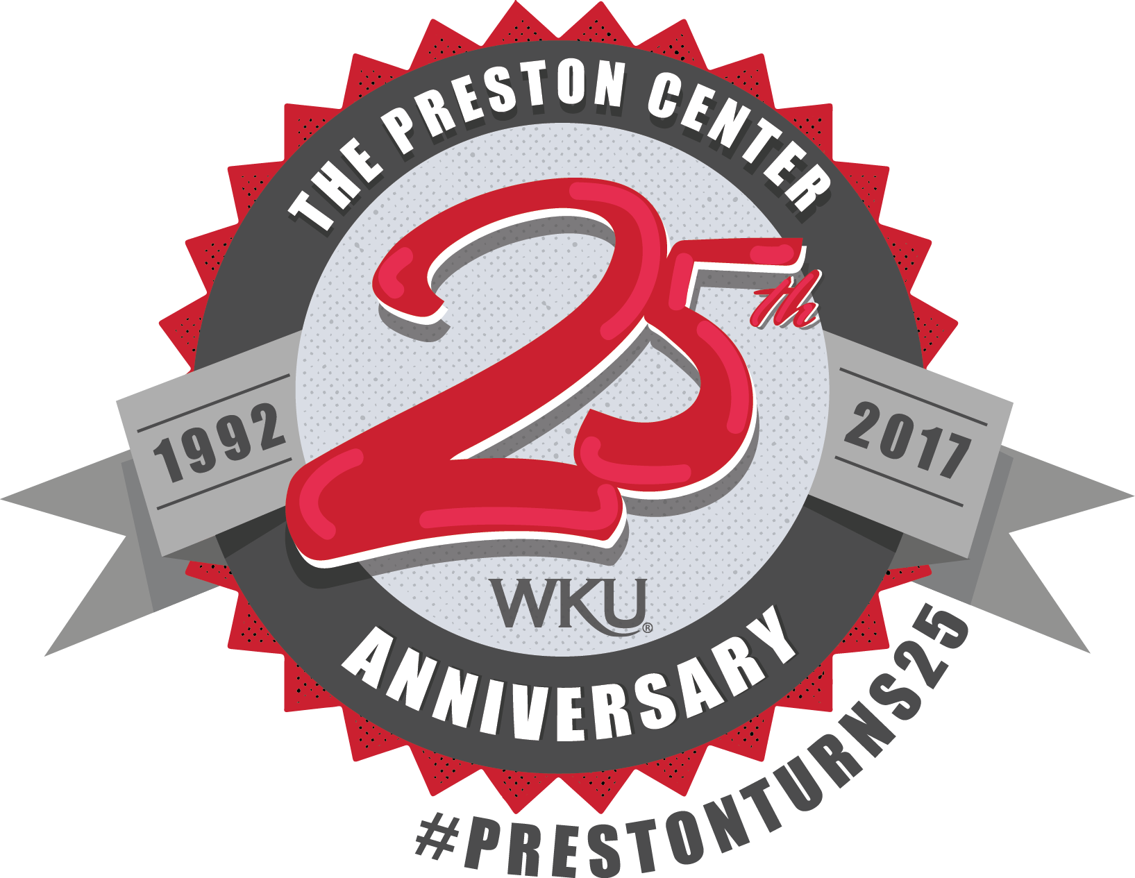 Preston 25th Year Logo