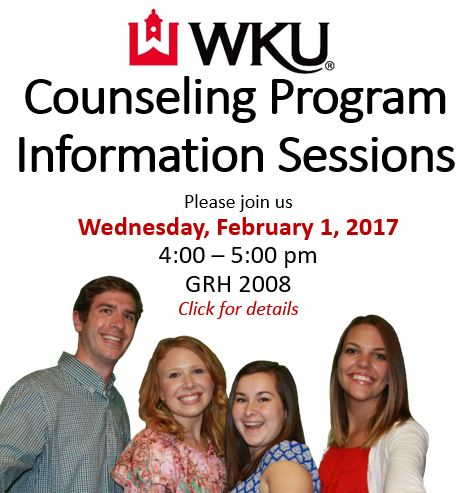 Info Session Feb 1, 2017, 4-5pm.
