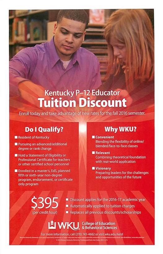 P-12 Tuition Discount